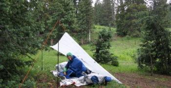 Шесть недель в Скалистых Горах Колорадо: Укрытия