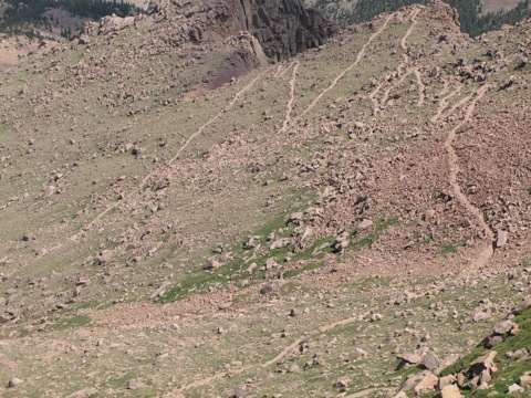 Шесть недель в Скалистых Горах Колорадо: Часть 2
