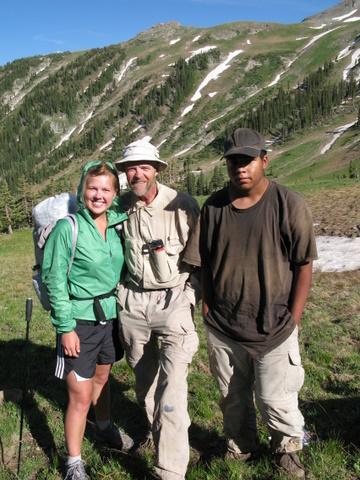 Шесть недель в Скалистых Горах Колорадо: Люди